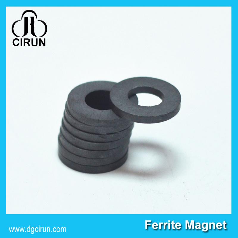 Custom Size Rare Earth Permanent Speaker Ring Ferrite Magnet
