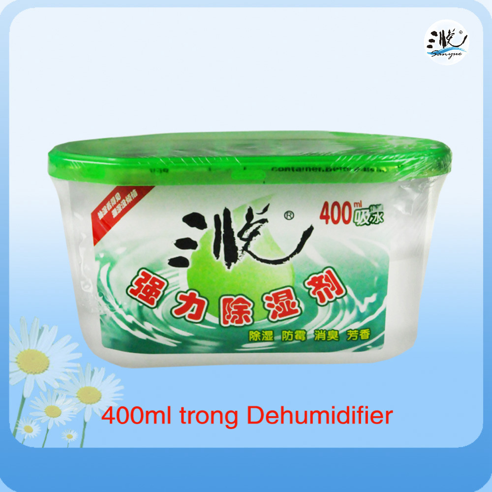 400ml Dehumidifier Box with Powerful Water Absorption Particulates