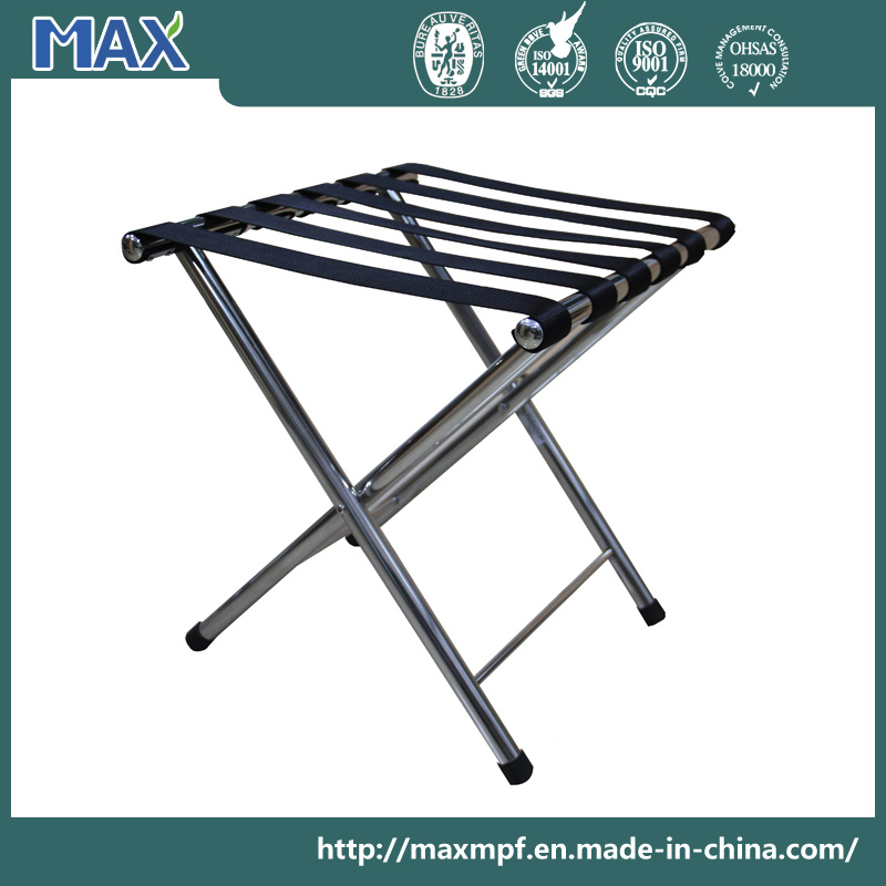 Folding Hotel Stainless Steel Luggage Rack