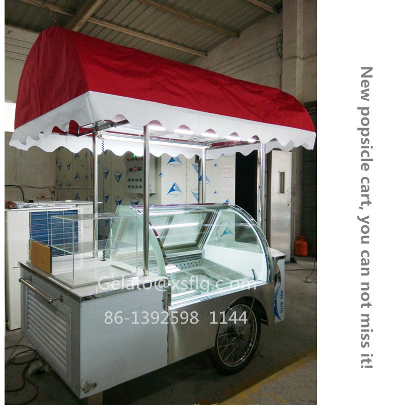 2015 New Style Xsflg-Ice Cream Stick Popsicle Cart-Ce