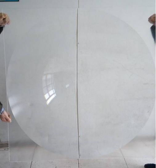 1.2 *1.1m Optical Linear Solar Fresnel Lenses for Solar Concentrator