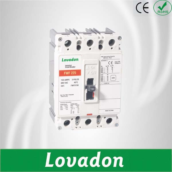 Good Quality Fwf Series Moulded Case Circuit Breaker RCCB