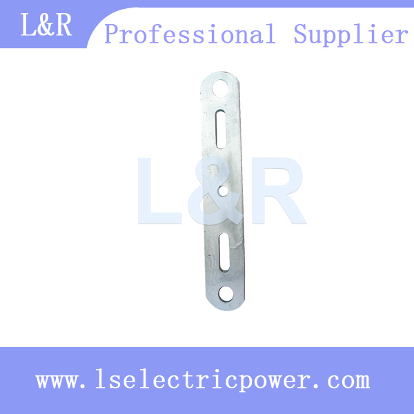 Galvanized Double Arming Plate for Linking Fitting