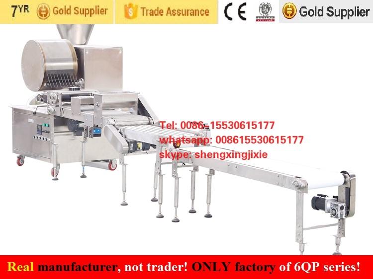 Automatic Spring Roll Sheets Machine/Samosa Pastry Machine/Injera Machine/Crepe Machine (real factory not trader)