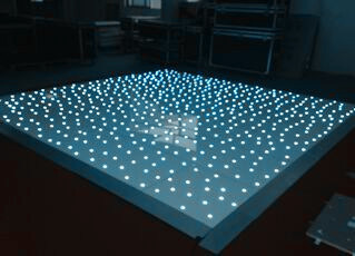Star Floor with RGB LEDs, LED Star Dancing Floor