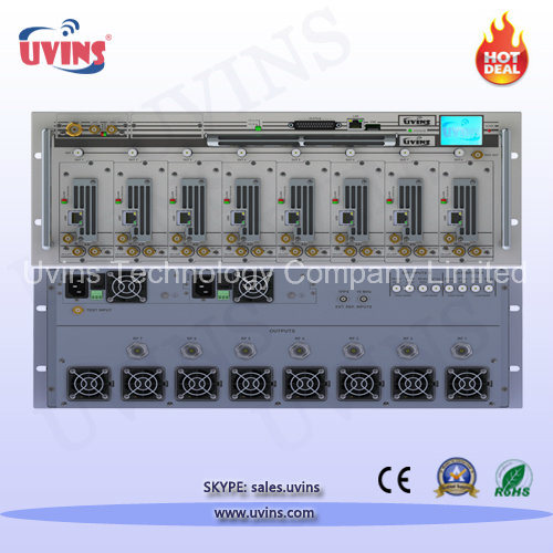 Multi-Channel Terrestrial Digital Television Transmitter   DVB-T/H/T2, ISDB-T/Tb, DAB/DAB+/T-DMB, ATSC Modulations Fully Supported