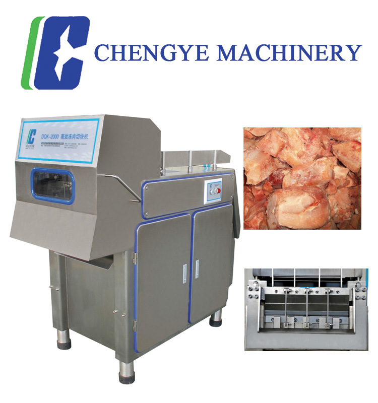 600kg Frozen Pork Meat Cutter/ Cutting Machine with Ce Certification
