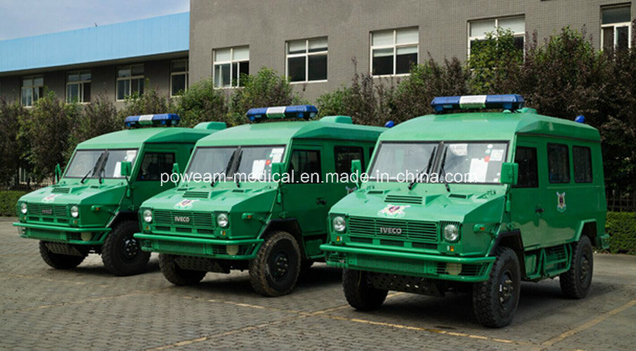 Medical Emergency Iveco Rhd Hospital Ambulance (6DDS6402JN)