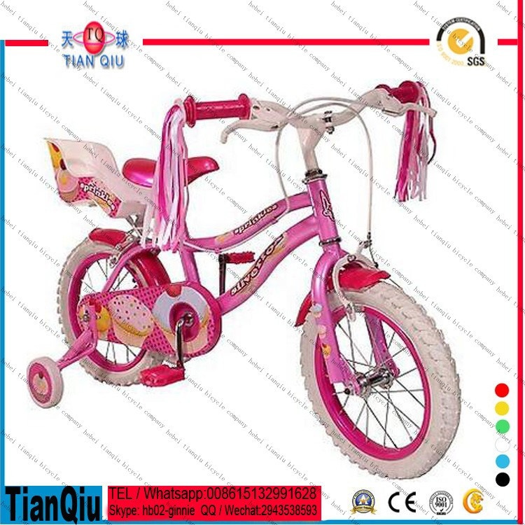 """12""""/16""""/20"""" Safety Fashion Good Price Kids Bike/Exercise Children Bicycle/Baby Bike with Doll Seat"""