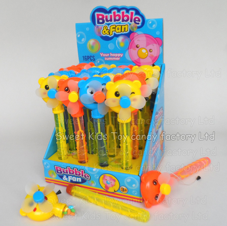 Bubble Water Fan Toy with Candy (131109)