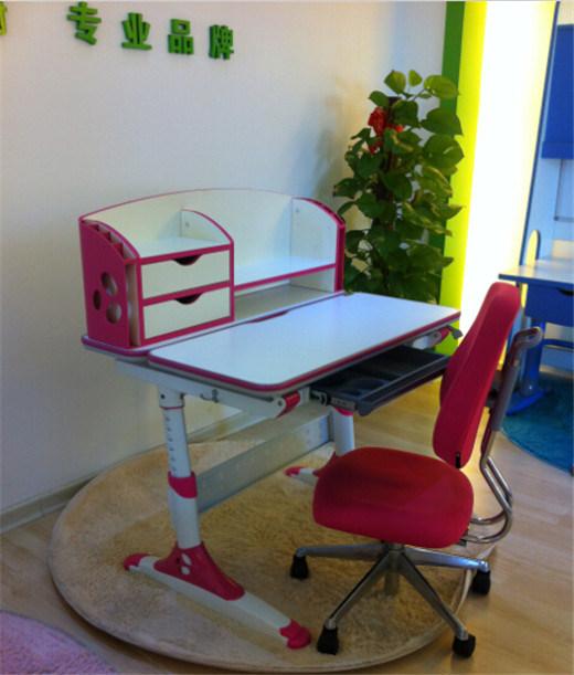 Ergonomic Wooden and Steel Ergonomic Table Children Table