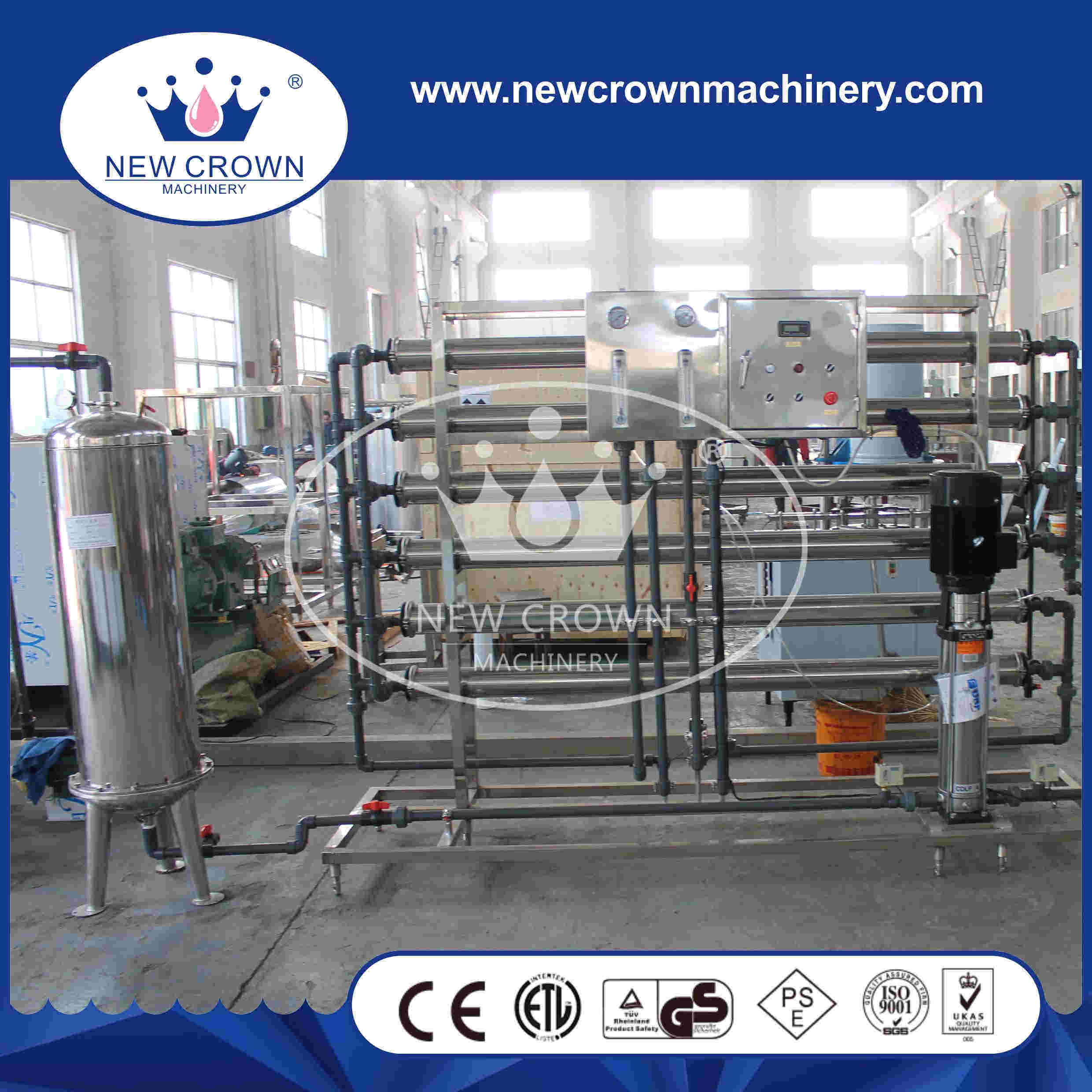 3000LTR Per Hour Stainless Steel Pure Water Treatment System pictures & photos