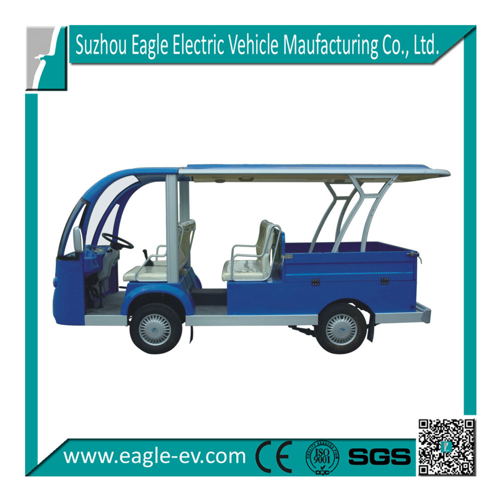 Utility Vehicles, Pure Electric, CE, Eg6088t with Cargo Box, Hydraulic Brake, AC System