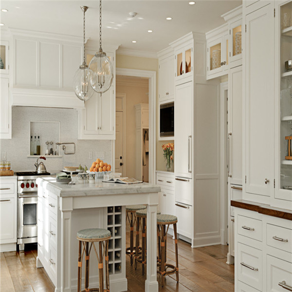 Frameless Kitchen Cabinets: China European Style Frameless Oak Wooden Kitchen Base