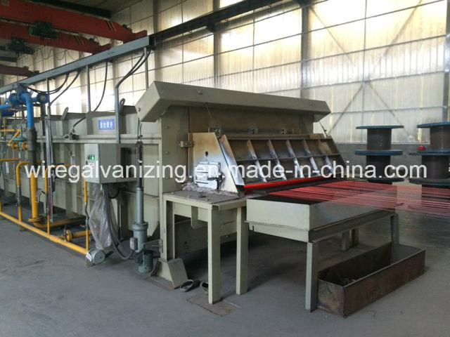 Steel Wire Vertical Pad Wiping System for Hot DIP Galvanizing