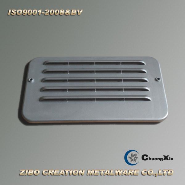 Aluminum Die Casting Air Conditioning Cover for Excavator