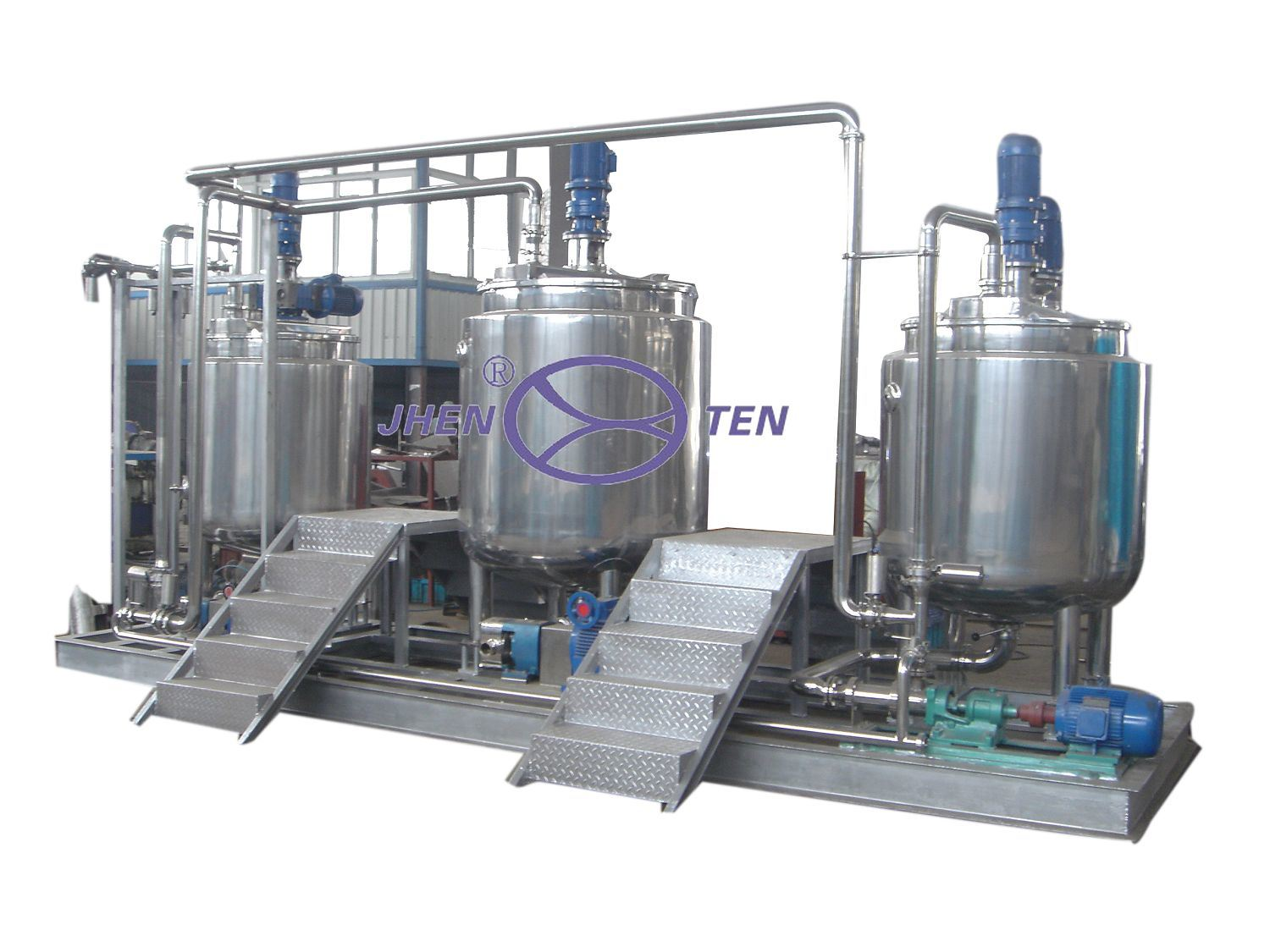 High Quality Sanitary Stainless Steel Mixing Tank