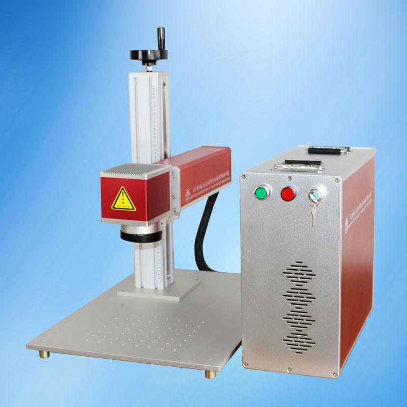 Portable Fiber Laser Marking Etching Machine on Metal