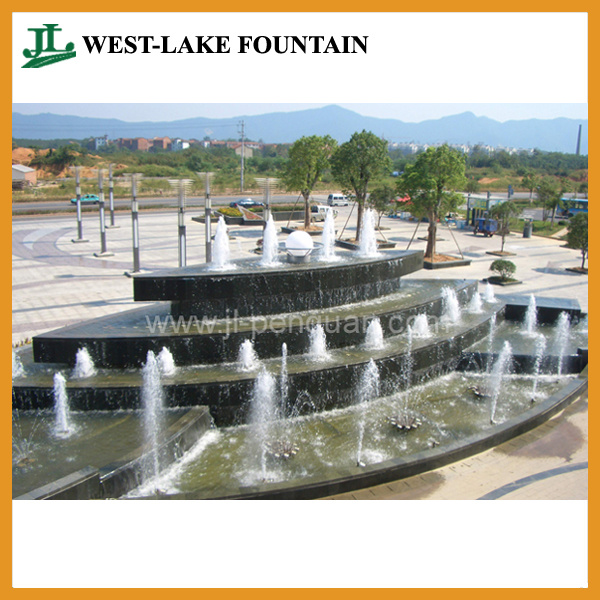 Landscape Garden Water Fountain for Railway Station Square