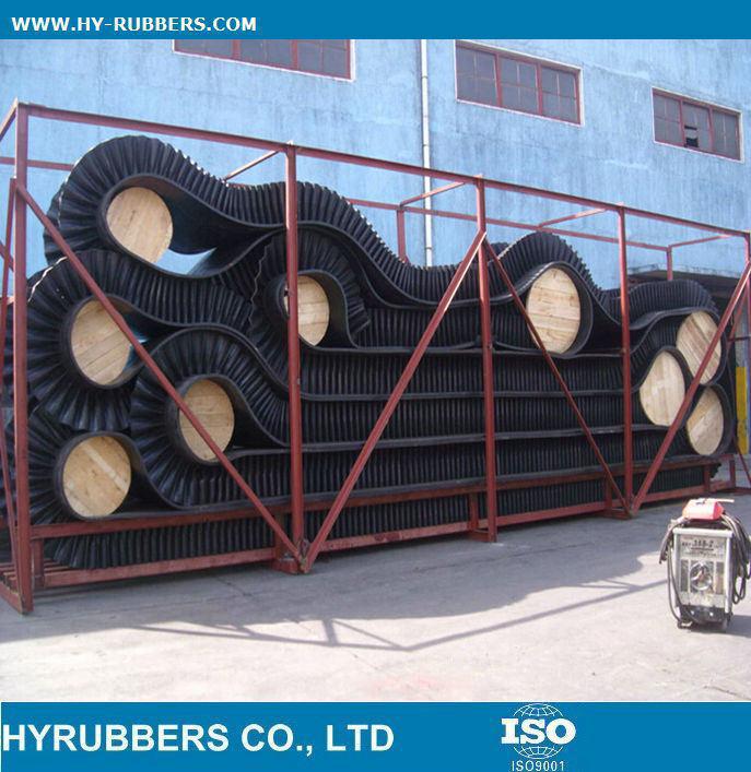 Corrugated Sidewall Conveyor Belt Manafacture Conveyor Belt Price
