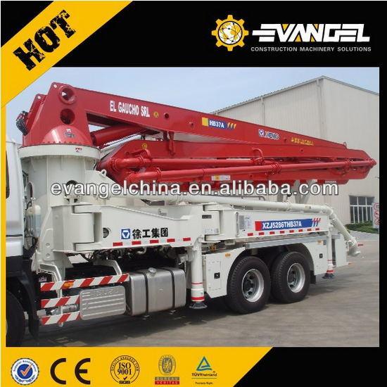 Concrete Mixer Pump Truck Hb37A for Sale Hydraulic Pump for Dump Truck Small Concrete Pump Truck