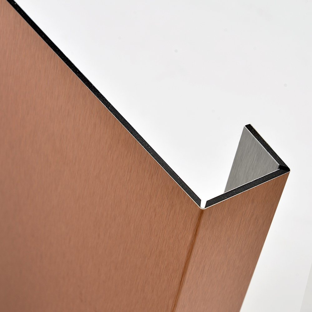Aluis Interior Brushed Aluminium Composite Panel