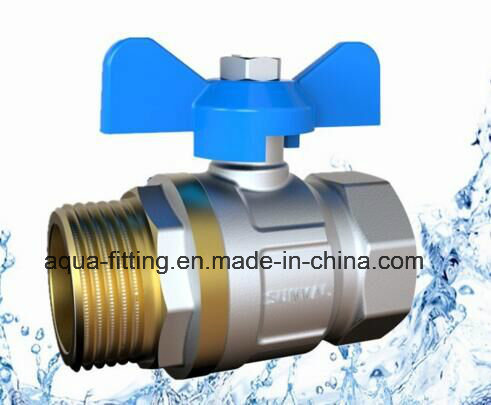 "1/4""-4""Ball Valve Brass Brass Ball Valve Price Forged Brass Ball Valve Nicked F/M"