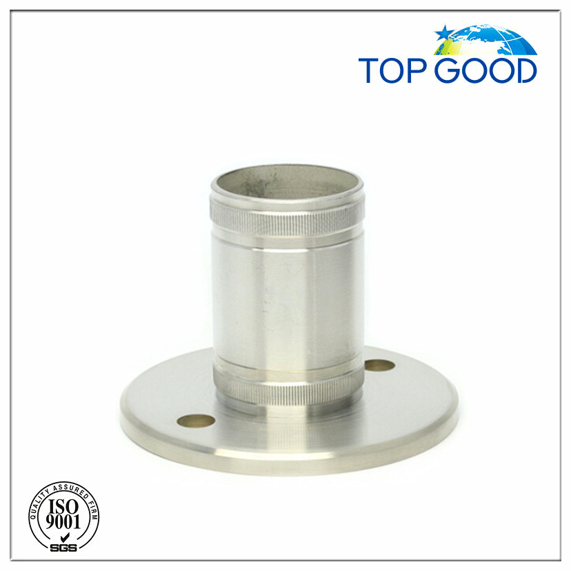 Stainless Steel   Handrail Wall & Bottom Anchor Base Plate (31030)