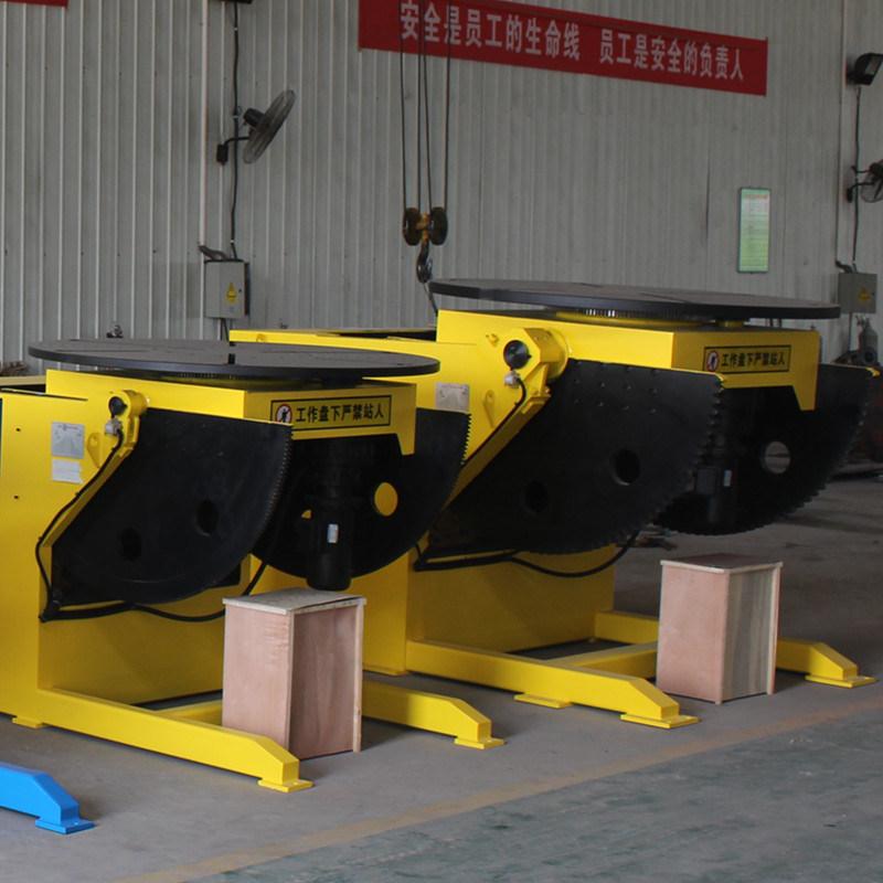 Automaitc Welding Positioner for MIG Welding Capacity 5000kg 5t