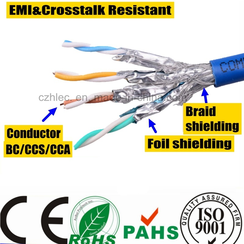 RoHS 1000Mbps Cat5e STP Network LAN Cable for Ethernet (SY118)