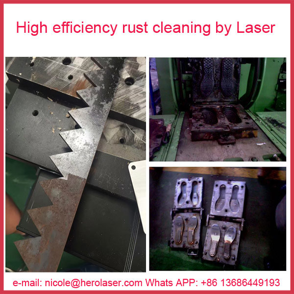 China′s First Manufacturer of 100W/ 200W/ 500W Fiber Laser Cleaning Rust Removal Machine