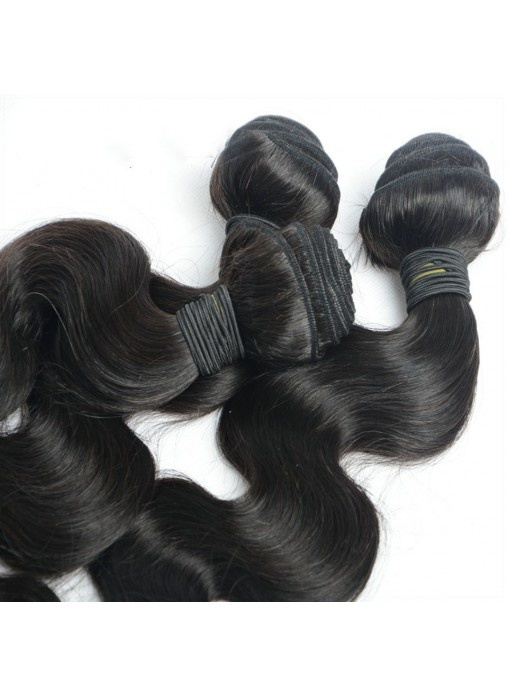 Natural Color Hair Weave Body Wave Human Hair Bundles