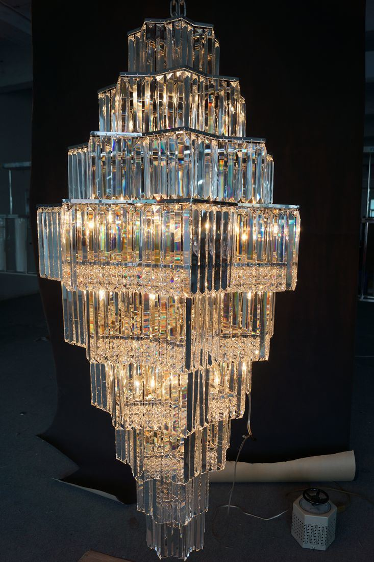 New Style Hotel Decoration Lighting Crystal Chandelier (KA702)