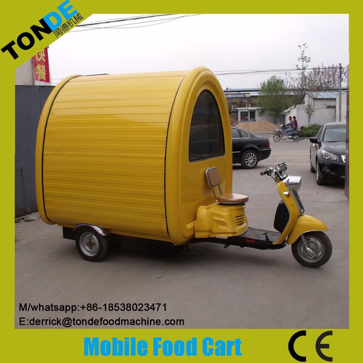 Afraic Market Mobile Food Vending Cart