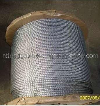 Tongguan Brand Galvanized Steel Strand 1*7