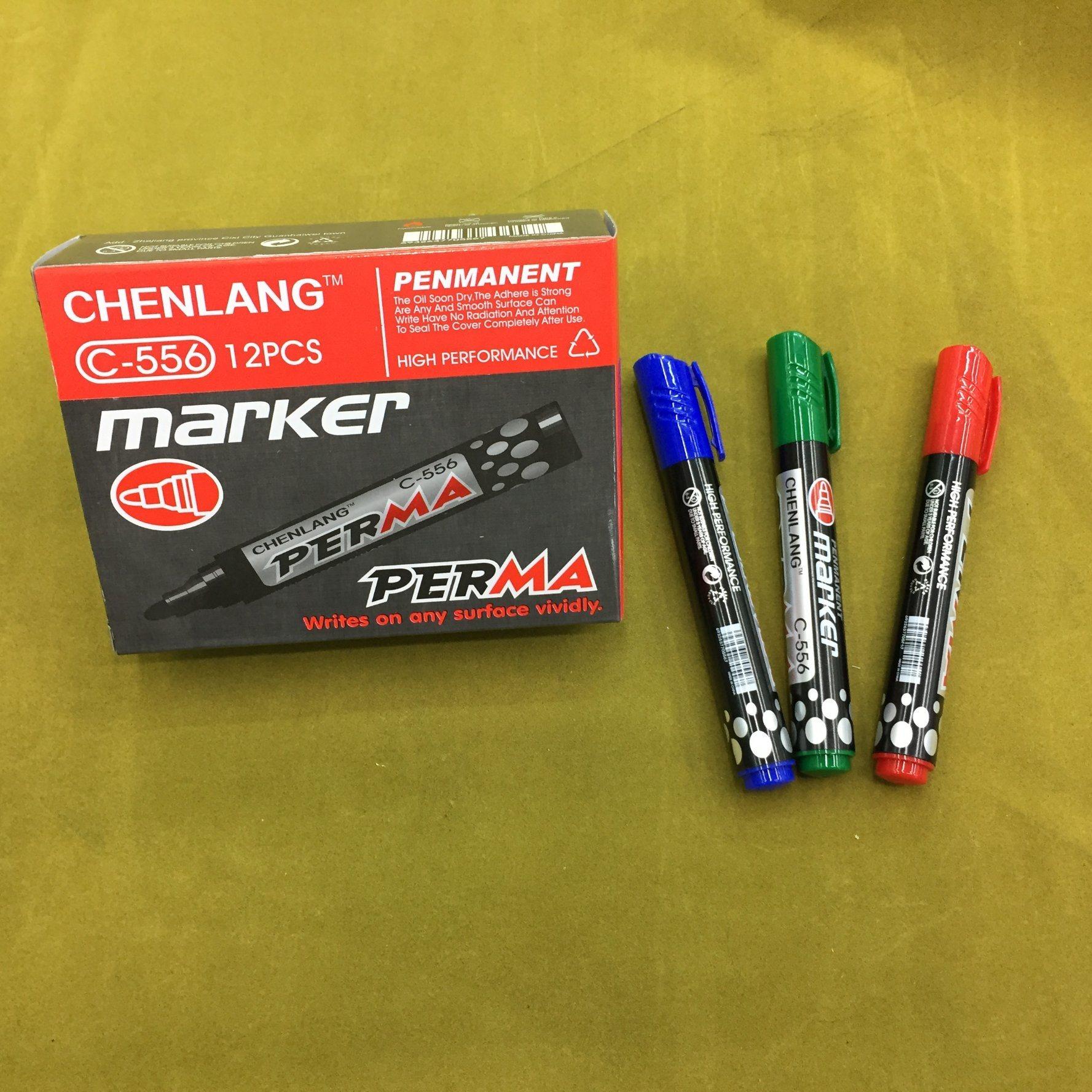 Dl-100 Cheap Permanent Marker Pen 12PCS/Box