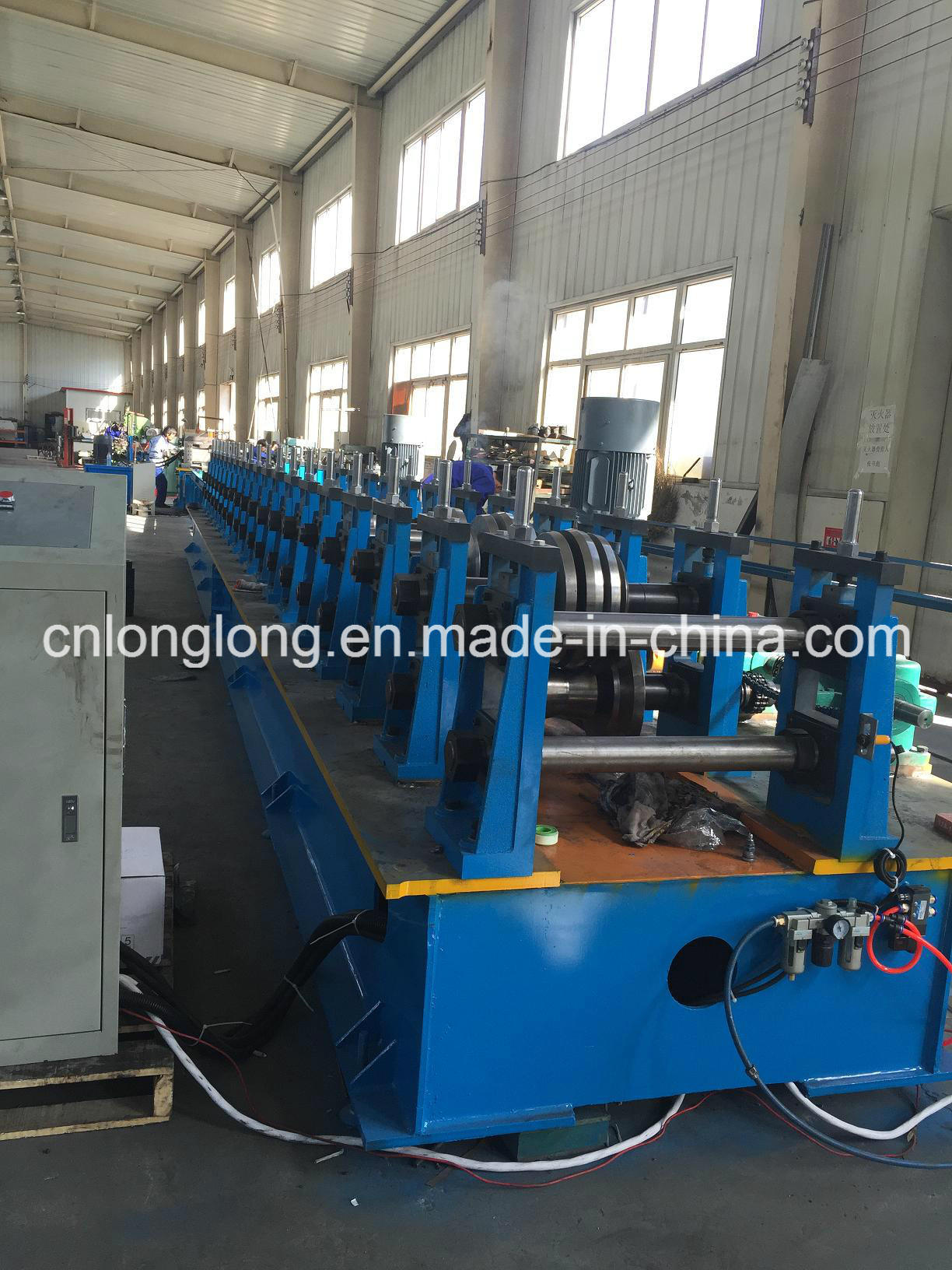 Solar Panel Bracket Roll Forming Machine for PV Project