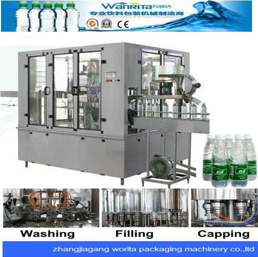 Pet Bottled Spring Water Bottling Machine (WD24-24-8)