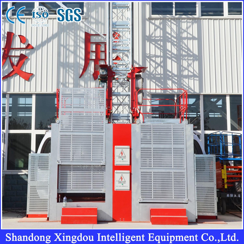 Sc200/200 Passenger & Material Construction Building Hoist