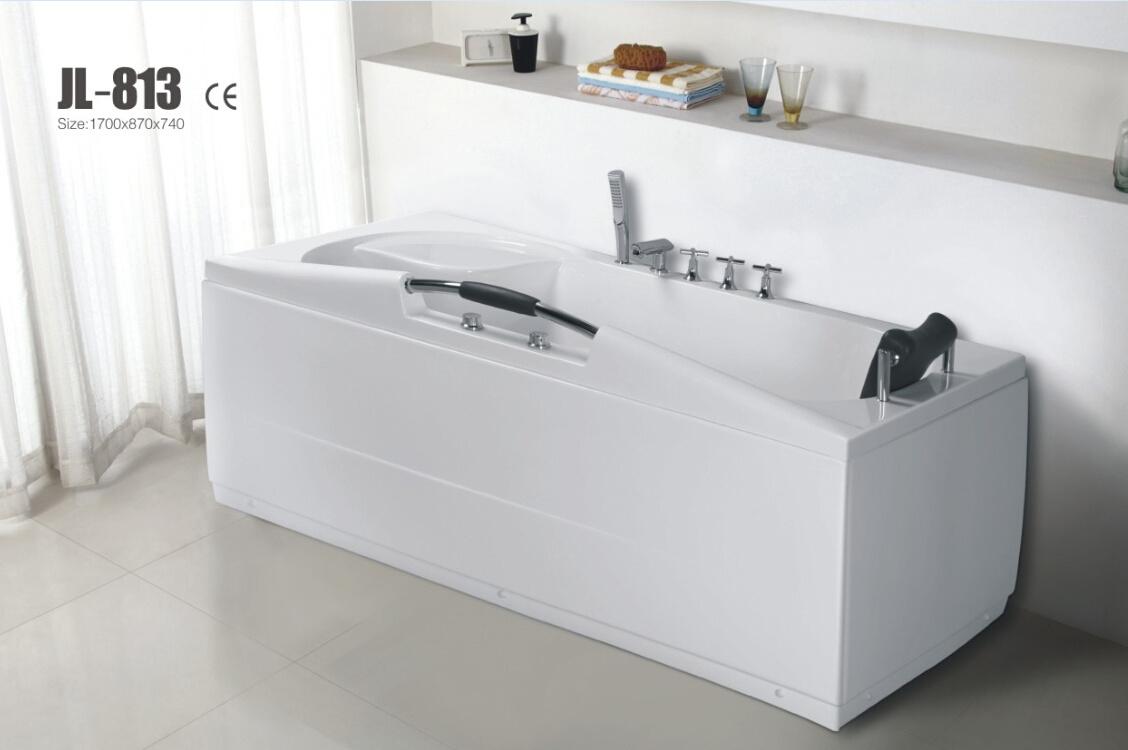 Cupc Approved Acrylic Whirlpool&Jacuzzi Bath Tub (JL813)