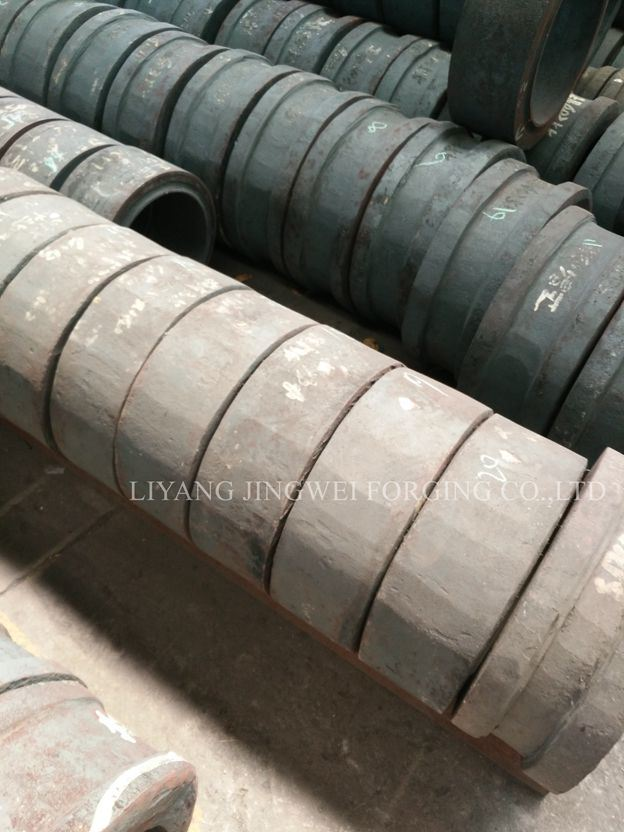 Pellet Machine Ring Die and Roller Shell Forging Parts