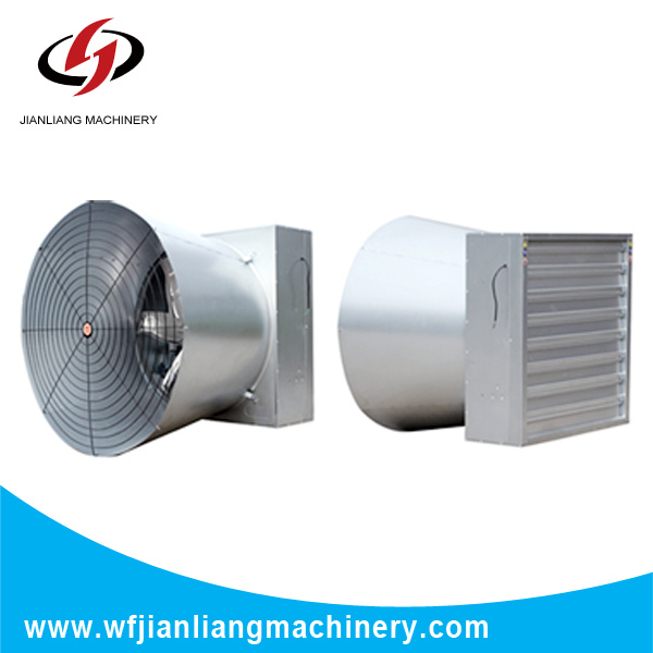 Hot Sales-Shutter Exhaust Cone Fanwith Good Quality