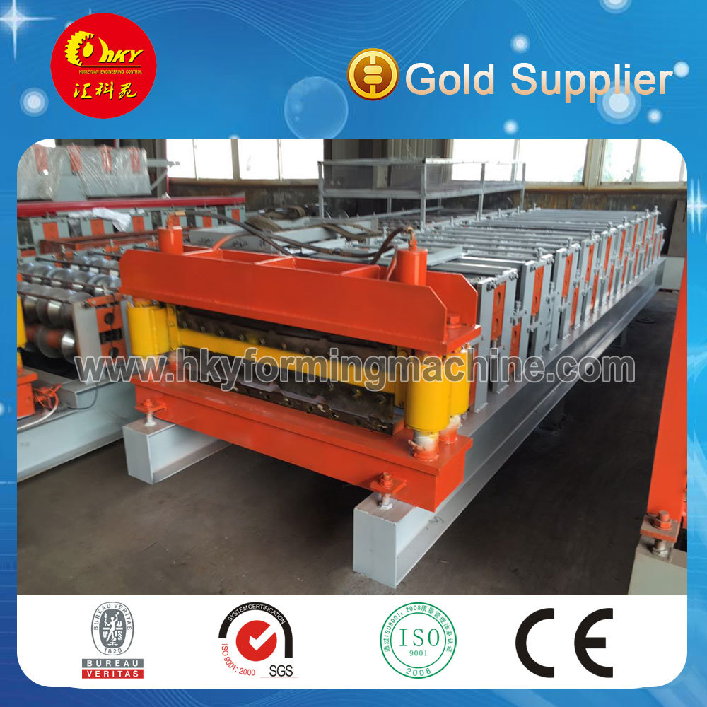 Double Layer Roof Roll Forming Machine Line