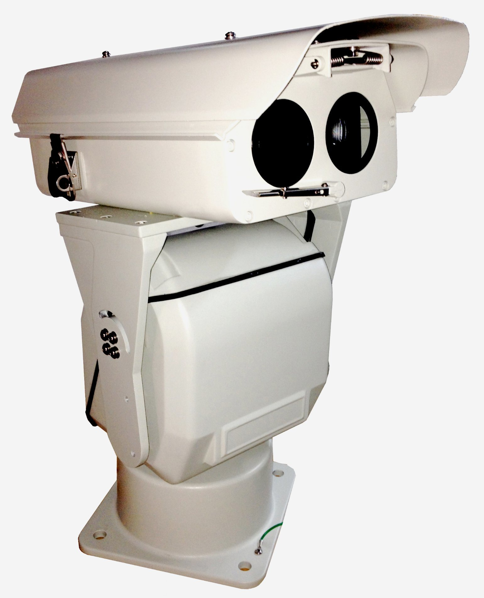 Outdoor All Weather Thermal PTZ Camera 2km HD 40X  HD 4k 3840 X 2160@30fps 1920X1080@60fps Light Weight