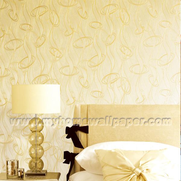 Carta di parete normale di disegno wallcovering carta di for Design della camera da letto europeo