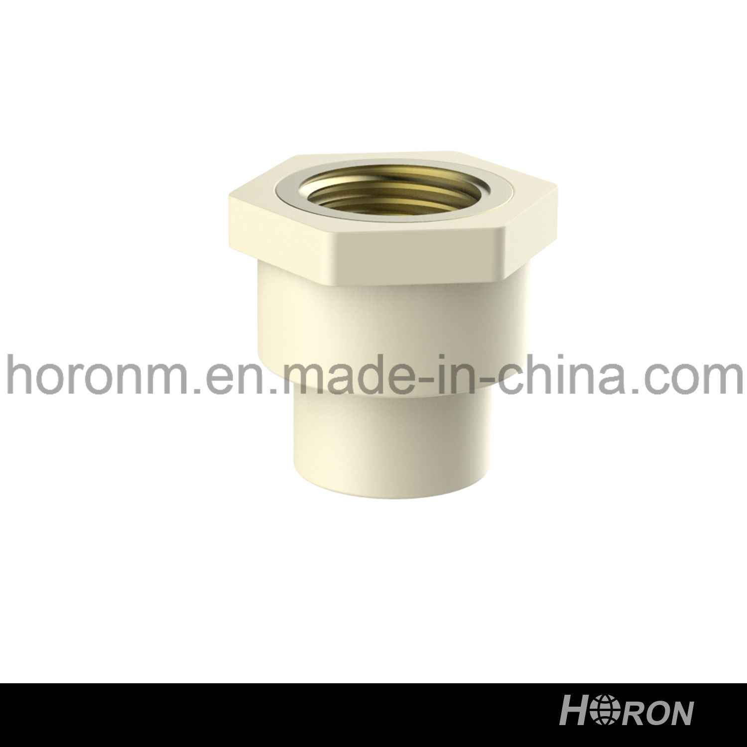 CPVC D2846 Water Pipe Fitting (FAMALE COUPLING)