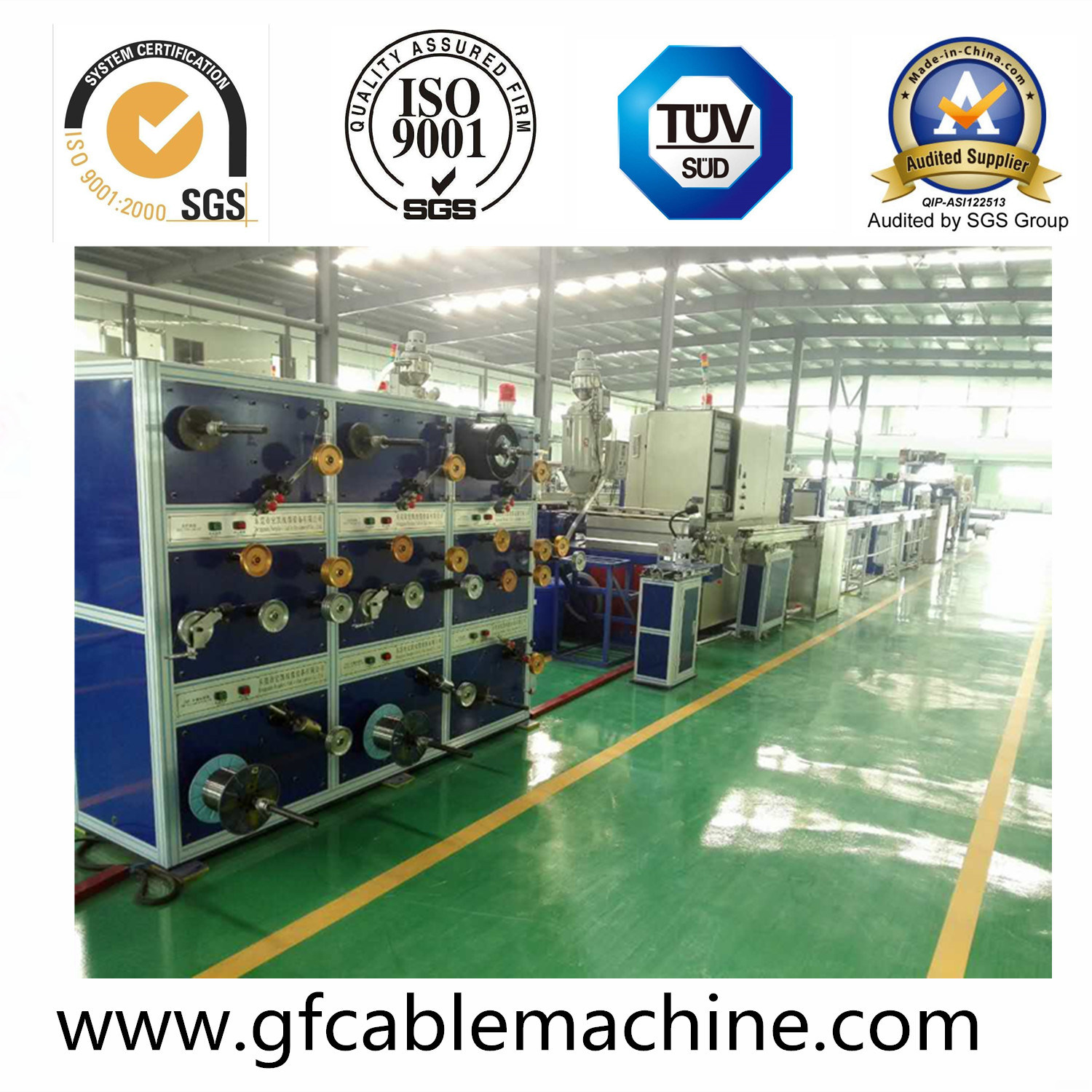 Optical Cable Machine-FTTH Drop Cable Production Line