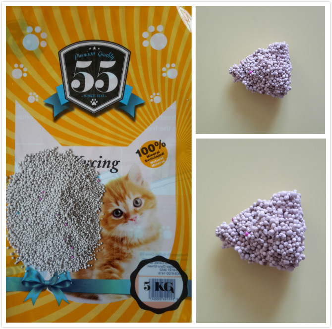 Strong Absorption Dust -Free Clumping Bentonite Cat Litter