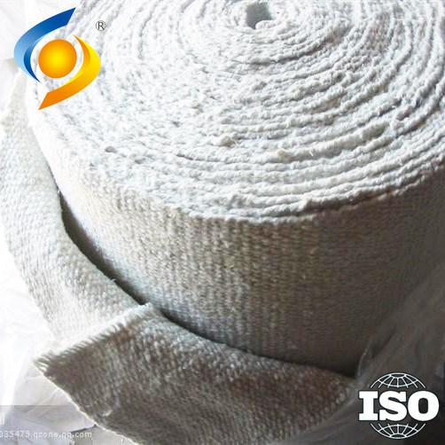 1260C Ceramic Fibre Cloth Aluminate Silicate ISO Quality