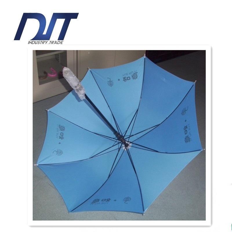 Water Flowering Advertising Umbrella, Straight Umbrella Three High-Grade Umbrella